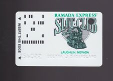 Player Slot Club Rewards Card Ramada Express Casino Laughlin Nevada raised