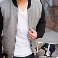 NWT Abercrombie & Fitch By Hollister Mens Full-Zip Baseball Jacket S M L XL XXL