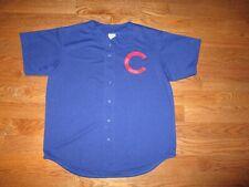 Mens Retro Chicago Cubs Sewn Majestic Jersey Sz. XL