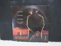 1992 Unforgiven Starring Clint Eastwood, LaserDisc, Warner Home Video