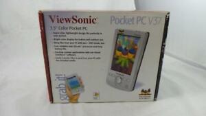 Boxed ViewSonic V37 Pocket PC Handheld PDA (VSMW27026-1M)