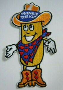 """Twinkie The Kid  Embroidered Iron-On Patch - Hostess Snack - 4"""" x 2"""" NEW"""