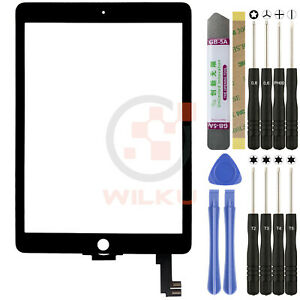 """Digitizer für iPad Air 2 ✅A1566✅2014 Display Glas Scheibe Toch Screen 9,7"""" Zoll"""