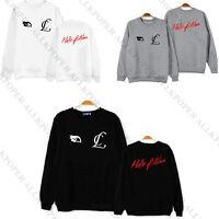 Kpop 2NE1 Sweater CL Hello Bitches New Video Unisex Pullover Hoodie Sweatershirt