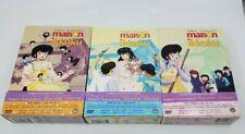 Maison Ikkoku DVD Series Lot Volume 1 2 3 Complete w/ Obi NM / MINT Discs Boxset