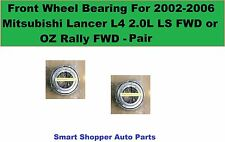 Front Wheel Bearing For 2002-2006 Mitsubishi Lancer L4 LS OZ Rally FWD (lt & rt)