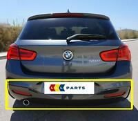 BMW NEW GENUINE F20 F21 14-17 M SPORT BUMPER DIFFUSER WITH ONE MUFFLER EXHAUST