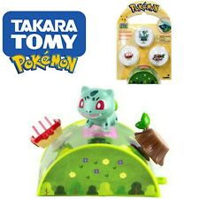 Pokemon Petite Pals Bulbasaur 3-Pack With Mini Case Collectible Tomy Brand New