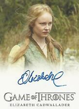 "Game of Thrones Season 5 - Elizabeth Cadwallader ""Lollys"" Autograph Card"
