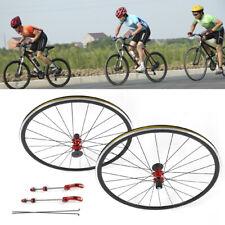 700C Road Bike Bicycle Wheel 7/8/9/10/11 Speed Freewheel Front Rear Wheelset