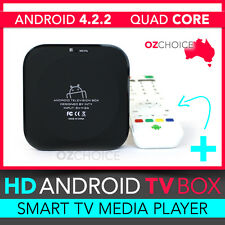 Google Android Quad Core TV Box Full HD 1080P Media Player WIFI Internet WLAN 8G