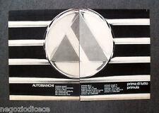 N564 - Advertising Pubblicità - 1968 - AUTOBIANCHI , PRIMA DI TUTTO PRIMULA