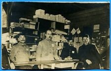 CPA-PHOTO: Prisonniers - Magasin militaire  / Guerre 14-18