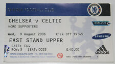 Ticket for collectors Chelsea FC - Celtic FC 2006 England Scotland