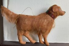 "Gladys Boalt Christmas Ornament ""Dogs"" Golden Retriever Dog Signed 1999"