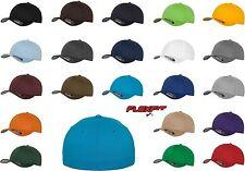 Original Flexfit Basecap Wooly Combed Cap Cappy Caps Kappe Mütze Baseball Cap