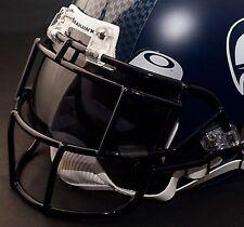 SEATTLE SEAHAWKS NFL Schutt EGOP Football Helmet Facemask/Faceguard (NAVY BLUE)