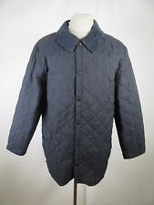 Men's Barbour Classic Eskdale Snap Nylon Quilted Jacket Size L A1790