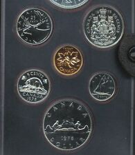 1978 Proof Like CANADA Penny 1 CENT from the 1978 PL set