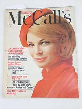 McCall's Women's Magazine Sept. 1962 - 1960s- Betsy McCall - Women in Politics