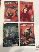 Daredevil and The Punisher #1-4  - Marvel 2016  - Near Mint - Lot of 4 comics