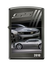 Zippo 4151 Chevy Camaro 2011 Black Ice Chrome Finish Full Size Lighter