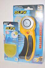 Rollschneider, Rollmesser Cutter 45mm von OLFA, RTY-2/DX + Ersatzklinge