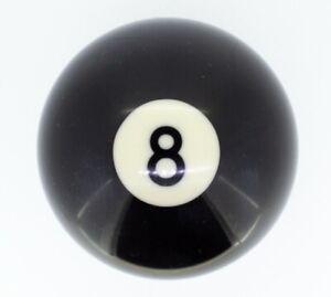 Billardkugel schwarz Nr. 8 Classic 57.2 mm Poolbillard Billardball Billard
