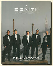 Zenith Watch Collection 2007-2008 Swiss Watch Catalog  W4