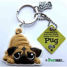 Pug Gift Keyring