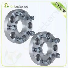 """25mm (1"""") 5x114.3 Hubcentric Wheel Spacers for Honda & Acura 64.1mm Hub 12x1.5"""