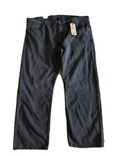 Levis Men's 569 Loose Straight Jeans Tag Size 42x32