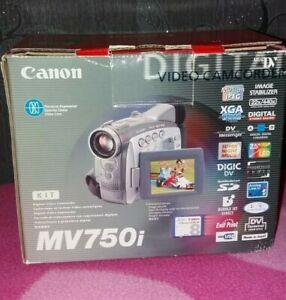 CANON MV750i Digital Video Camcorder Recorder Mini DV With Accessories VGC