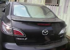 REAR LIP SPOILER ABS FOR MAZDA 3 '10-'13 4D SEDAN