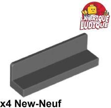 1x Lego Window Black 3x3x6 Panel Corner Space Police I Left 2468pb02