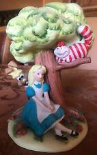 "Rare Vintage1960's Walt Disney Productions Figurine Alice In Wonderland 7,5"""