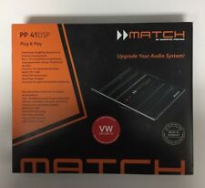 Match PP41DSP  Plug & Play amplifier upgrade for select VW Radios