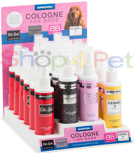 ANCOL DOG COLOGNE, KENNEL 5 - OLD SPIKE - BB -  K9 - great fragrances for Dogs