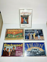 Vintage Country Gospel Cassette Lot of five cassette tapes - Nice!