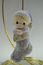 Precious Moments Ornament Baby Boy First Xmas Dated 2014 141006 Bx FreeusaShp