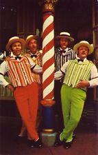 THE DAPPER DANS, BARBER SHOP QUARTET, WALT DISNEY WORLD, MAIN STREET, U.S.A., FL