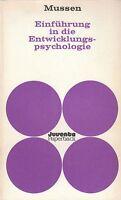 PAUL H. MUSSEN Einführung in die Entwicklungspsychologie TB