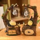 Cute Totoro Night Light LED Table Lamps Resin Craft Bedroom Decoration Toys Gifs