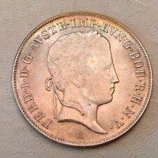 -  Austria 1848 A Ferdinand I 20  Kreuzer Uncirculated Unc