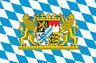"2x Auto Aufkleber Fahne Bundesland "" BAYERN "" Flagge (ca. 8 cm) Vinyl Sticker"