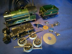 Hornby 0 gauge No. 51 clockwork tender loco, spares/repair   (O, engine, No. 50)