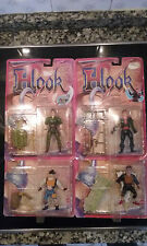 Lot Lote x4 HOOK Mattel Moc New 1991 Peter Pan Rufio Ace Lost Boy Vtg Vintage