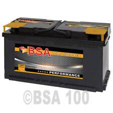 Autobatterie 100Ah 12V +30% Power Starterbatterie ersetzt 88Ah 90Ah 92Ah 95Ah