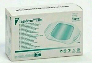 3M Tegaderm Film Dressing. Ref 1624W. 6cm x 7cm.x(100). Medical & Tattoo