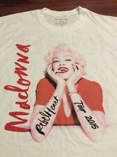 MADONNA REBEL HEART 2015 TOUR SHIRT XL NEW